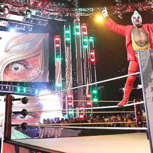 rey misterio ceremonia retiro en vivo wwe raw